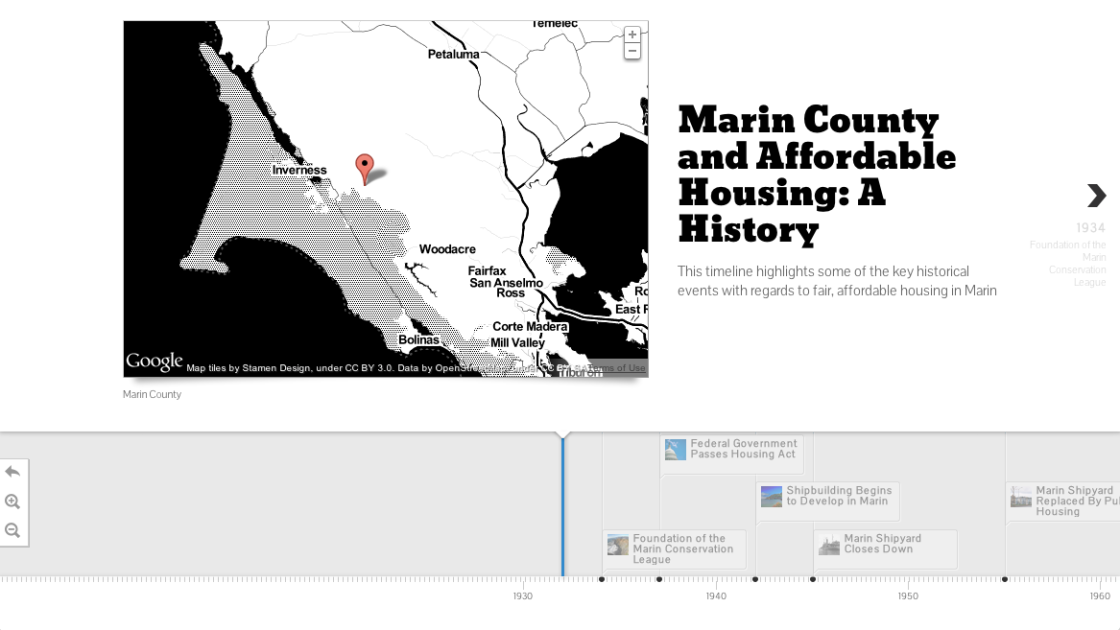 Marin County and Affordable Housing: A History